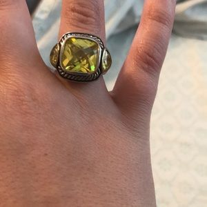 Jewelry - Yellow and  Silver Ring